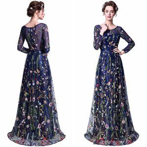 Dresses & Skirts - Secret Garden Floral Embroidered Maxi Dress 10